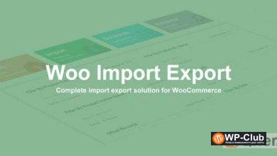 Фото Woo Import Export 5.2.0 NULLED