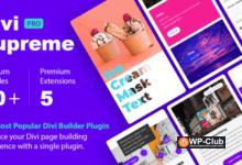 Фото Divi Supreme Pro 3.7.4 — модули для Divi WordPress