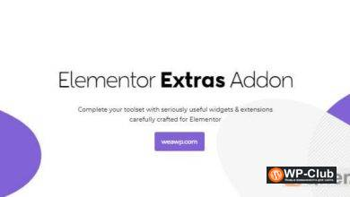 Фото Elementor Extras 2.2.39 Nulled — Очень полезные виджеты и расширения для Elementor