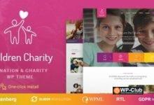 Фото Children Charity 1.1.1 — тема для НПО и других благотворительных организаций