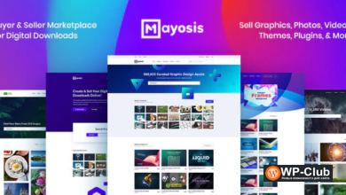 Фото Mayosis 3.0.0 — WordPress тема для магазина цифровых товаров