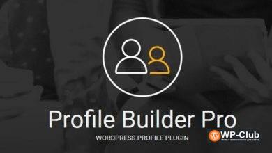 Фото Profile Builder Pro 3.2.7 — конструктор профилей WordPress