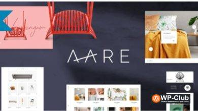 Фото Aare 1.0.1 — WordPress тема для мебельного магазина