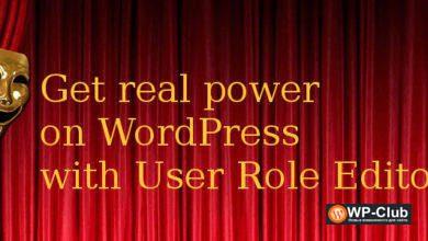 Фото User Role Editor Pro 4.58 — редактирование ролей пользователей в WordPress