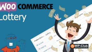 Фото WooCommerce Lottery 1.1.25 — лотереи для WooCommerce