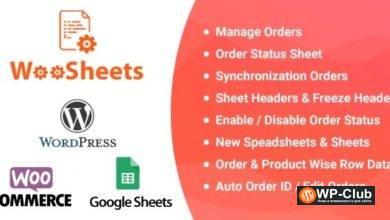 Фото WooSheets 4.6 — управление заказами WooCommerce с помощью электронной таблицы Google