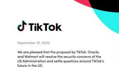 Фото Администрация США одобрила сделку по продаже части бизнеса TikTok компаниям Oracle и Walmart