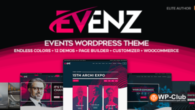 Фото Evenz 1.2.4 — WordPress тема для конференций и мероприятий