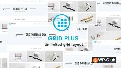 Фото Grid Plus 3.2 — посты сеткой для WordPress