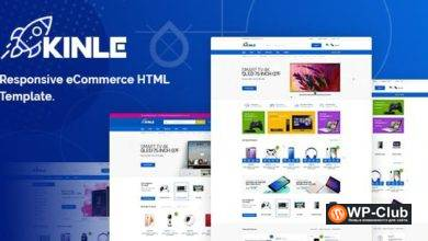 Фото Kinle 1.0 — Responsive eCommerce HTML Template