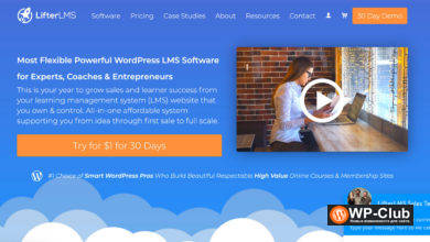 Фото LifterLMS 4.4.4 — плагин WordPress LMS