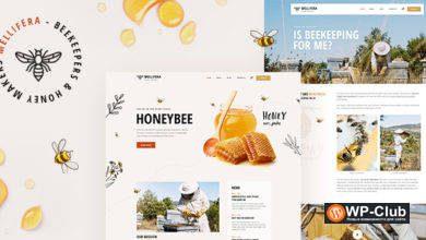 Фото Mellifera 1.0.3 — WordPress тема пчеловодства и медового магазина