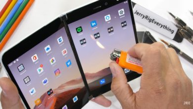 Фото Microsoft Surface Duo протестировали на прочность