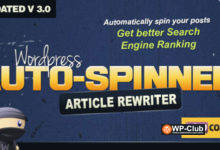 Фото WordPress Auto Spinner 3.7.5 — Articles Rewriter