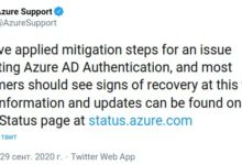 Фото Причина масштабного сбоя облака Microsoft 365 определена — единой точкой отказа стала Azure Active Directory