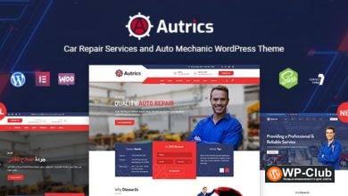 Фото Autrics 2.2 — WordPress тема для автосервисов и автомехаников