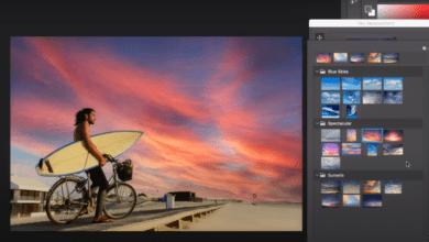 Фото В Photoshop появится функция на ИИ для замены неба