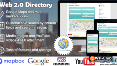 Фото Web 2.0 Directory 2.6.7 Nulled — доска объявлений для WordPress
