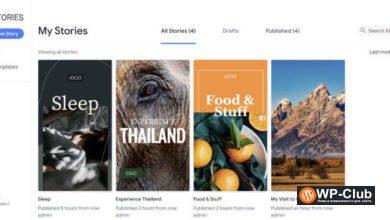 Фото Google выпустили свой WordPress плагин Web Stories