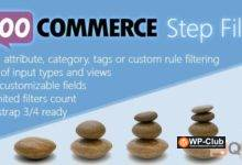 Фото Woocommerce Step Filter 7.8.0 — плагин фильтра WordPress