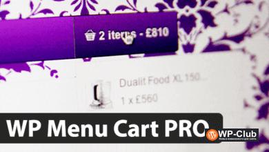 Фото WP Menu Cart Pro 3.4.0