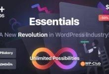 Фото Essentials 1.0.3 — Многоцелевая WordPress тема