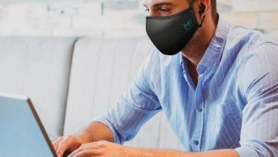 Фото Защитную маску совместили с беспроводными наушниками — получилось устройство MASKFONE