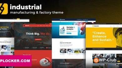 Фото Industrial 1.4.0 — WordPress тема для промышленности и фабрики