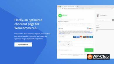 Фото CheckoutWC 4.0.0 Nulled — оптимизированный шаблон оформления заказа для WooCommerce