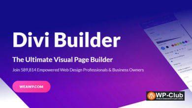 Фото Divi Builder 4.7.4 + шаблоны – конструктор страниц WordPress