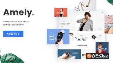 Фото Fashion Amely 2.6.5 — WordPress тема для модного магазин