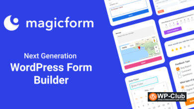 Фото MagicForm 1.5.3 — конструктор форм WordPress