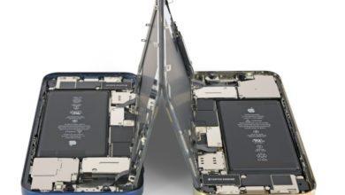 Фото iPhone 12 и iPhone 12 Pro получили 6 баллов из 10 по шкале ремонтопригодности iFixit