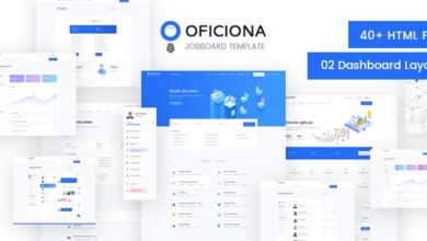 Фото Oficiona 1.4 — Job Board HTML Template