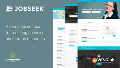 Фото Jobseek 2.17 — WordPress тема для сайта вакансий