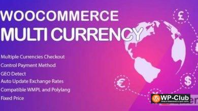 Фото WooCommerce Multi Currency Premium 2.1.10 — Валютный переключатель