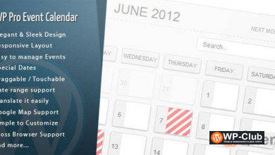 Фото WordPress Pro Event Calendar 3.2.6 — календарь событий WordPress
