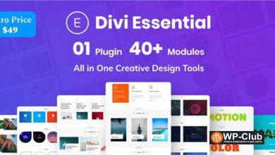 Фото Divi Essential 3.6.0 — Расширение Divi для модулей этикеток
