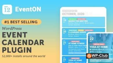 Фото EventON 3.0.7 Nulled + addons — календарь событий для WordPress