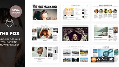 Фото The Fox 4.6.3 — тема WordPress для новостей и блогов