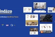 Фото Windazo 1.2.2 — WordPress тема для пластиковых окон и дверей