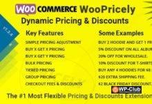 Фото WooPricely 1.3.5 — Динамическое ценообразование и скидки