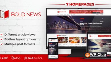 Фото Bold News 1.4.8 — новостная тема для WordPress