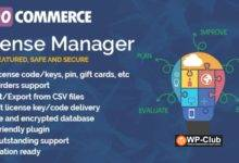 Фото WooCommerce License Manager 4.3.3 Nulled