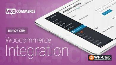 Фото WooCommerce Bitrix24 Integration 1.38.2 NULLED — Интеграция WooCommerce с Битрикс24 CRM