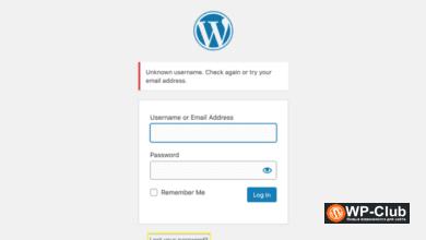 Фото 5 решений с доступом к заблокированной панели администрирования WordPress