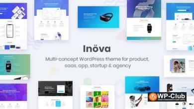 Фото Inova 3.6.0 — многоцелевая тема WordPress