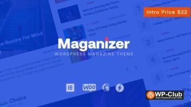 Фото Maganizer 1.0 — WordPress тема для новостных и журнальных сайтов