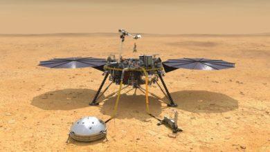 Фото НАСА отказалось от попыток установить термометр под грунтом Марса