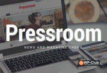 Фото Pressroom 5.2 — WordPress тема новостого сайта и журнала